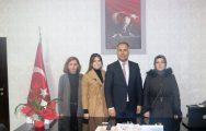 Okul Aile Birliğinden İlçe Milli Eğitim Müdürü Erkan Bilen'e Ziyaret