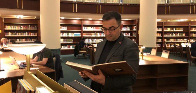 Başkan Erdoğan, Millet Kütüphanesi'ni Gezdi