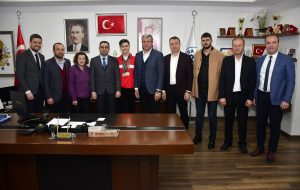 Milli Atlet Anıl Korkmaz'dan Başkan Erdoğan'a Ziyaret