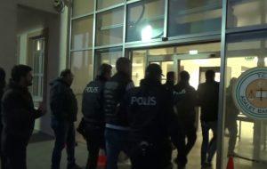 suç örgütü operasyonunda 20 tutuklama