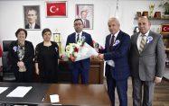 Vergi Dairesi Müdürlüğü'nden Başkan Erdoğan'a Ziyaret