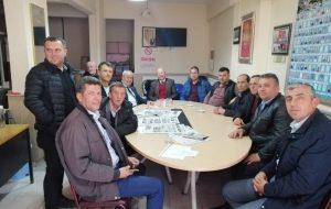 CHP'den Köy Muhtarlarına Ziyaret