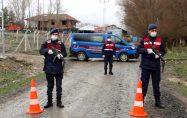 10 köy, koronavirüs salgını sebebiyle karantina altına alındı