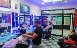 Biga'da kuaförler Müşterileriyle Buluştu