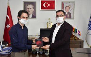 Genç yazardan Başkan Erdoğan'a ziyaret