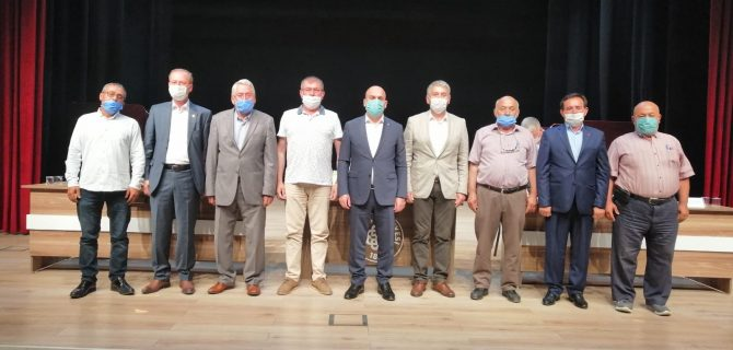 Biga'da Köylere Hizmet Götürme Birliği Seçimi Yapıldı