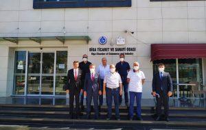 Denizbank Trakya Bölge Müdürü'nden Biga TSO' ya  Ziyaret