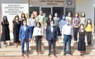 Biga Belediyesi'nden Okullara Dezenfeksiyon Cihazı