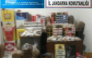 Biga'da kaçak tütün operasyonu: 5 gözaltı