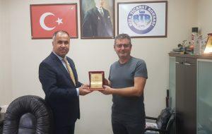 İlçe Milli Eğitim Müdür Erkan Bilen Ziyareti