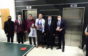 Biga Adliyesi Tenis Turnuvası'nda Final