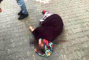 Biga'da bir motosikletin çaptığı yaya yaralandı