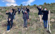 Biga Ülkücüler, Alparslan Türkeş anısına fidan dikti