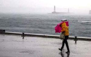 Meteoroloji'den 9 il için sağanak ve lodos uyarısı