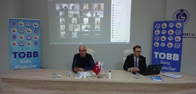 BİGA TSO 2020 YILININ SON MECLİS TOPLANTISINI YAPTI.