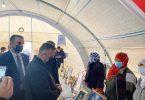 Ali Karnap evlat nöbetindeki aileleri ziyaret etti