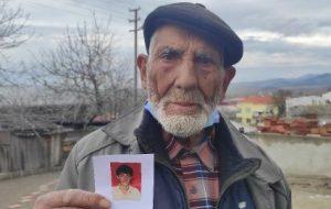25 yıldır kayıp oğlunu arıyor