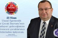 23 Nisan Ulusal Egemenlik ve Çocuk Bayramı kutlu olsun…