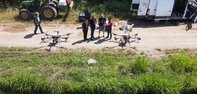 DRONE ARTIK TARIMSAL İLAÇLAMANIN DA HİZMETİNDE