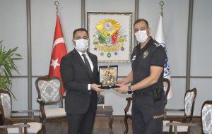 Biga İlçe Emniyet Müdürü'nden Başkan Erdoğan'a Ziyaret