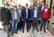 MHP İlçe Başkanı Salih Altınkaya Muhtarlar Günü'nü Kutladı